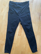 Maternity Black Jeans Mama H&M Size L (approx 14) Over Bump