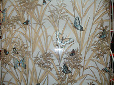 VINTAGE WALLPAPER MYLAR FOIL WALLCOVERING 1970'S RETRO more @ our ebay store