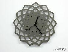 Concrete Geometrical Star Wall Clock - Modern Wall Clock