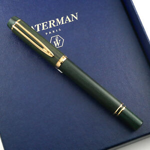 Waterman LE Man 100 Green Wood fountain Pen