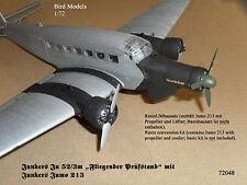 Ju 52/3m Fliegender Prüfstand mit Jumo 213  1/72 Bird Models Umbausatz/conv. kit