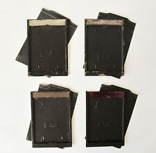 4 x Vintage A.P. Paris darkslides / plate holders  13 x 9.1cm