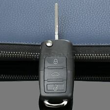 3 Button Floding Flip Remote Key Fob Shell Case For VW Golf Passat Polo Jetta