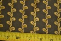 """By 1/2 Yd, Tan & Dark-Brown Quilting Cotton, """"Annandale"""", Andover/Jo Morton, B12"""