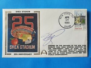 Mike Piazza Autograph Signed Gateway Cachet FDC Envelope First Day  w/ Hologram
