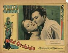 OLD MOVIE PHOTO Wild Orchids Lobby Card Greta Garbo Nils Asther 1929