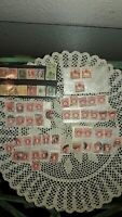 LOT OF 65 STAMPS, U.S. POSTAGE DUE STAMPS+ SEVERAL U.S. & WORLD STAMPS,1890'S+