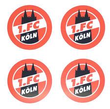 1. FC Köln Aufkleber 4er Set Sticker Logo Fussball #574