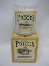 New Prices Heritage Collection Scented Candle Glass Jar Egyptian Cotton