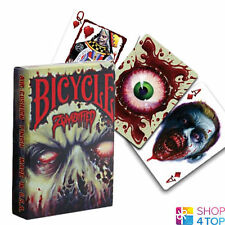 BICYCLE ZOMBIFIED ZOMBIE PLAYING CARDS DECK HALLOWEEN ZOMBIES BILLY TACKETT USA