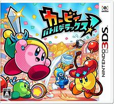 NEW Nintendo 3DS Kirby Battle Deluxe! JAPAN import Japanese game