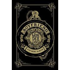 BOYFRIEND 4TH MINI ALBUM [ BOYFRIEND IN WONDERLAND] CD+PHOTO CARD