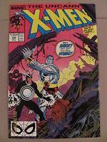 Uncanny X-Men #248 Marvel Comics 9.2 Near Mint- 1st Jim Lee art on X-Men