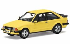 CORGI VANGUARDS- VA11011 FORD ESCORT MK 3 XR3 PRIARIE YELLOW 1:43 SCALE