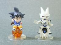 "Dragon Ball Chara Puchi Goku Shenron Figure 2PCS Authentic 2.5"" Bandai JP"