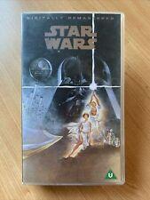 Star Wars: Digitally Remastered - VHS Tape (1994) Mark Hamill - UK PAL ⭐️VGC⭐️