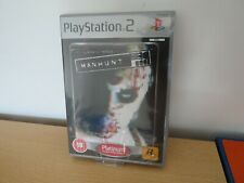 Manhunt  Sony PlayStation 2, ps2 new sealed pal