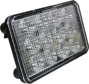 """TIGER LIGHTS TL6080 LED Flood Beam Light 4"""" X 6.5"""" FITS Case/IH Combines"""