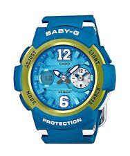 Casio Baby-G * BGA210-2B Dual Dial Blue Gold Anadigi COD PayPal Ivanandsophia