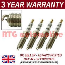 4X doppio Iridium Spark Plugs per Ford Puma 1.7 16V 1997-2001