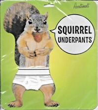 Squirrel Underpants by Accoutrements FACTORY SEALED BRAND NEW FREE SHIP TRACK US