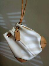 Cute Vtg EUC COACH Micro Mini Soho Drawstring Pouch Bag Coin Card Purse Wristlet