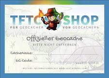30 Stück Geocaching Klebeschild für Petling ANGEBOTSPREIS
