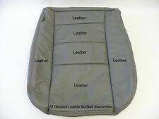 2006 Ford F-250 F-350 Lariat Diesel or Gas Driver Bottom Leather Seat Cover Gray