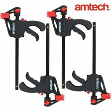 2 pieces Screw Clamps Heavy Duty Clamps for Bars Clamp Wood Working Manual Tool Kit 80 * 600mm F Clamps