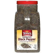 Tones Restaurant Black Pepper (5 lb.)