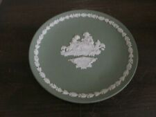 Wedgwood England Jasperware Green Collector Plate Mother 1972 6 .5""