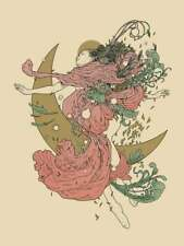Richey Beckett CELESTIAL x/50 Screen Print Pink & Metallic Gold Variant Edition