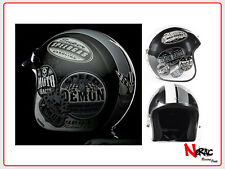 STEALTH HELMETS HD320 MONO CASCO MOTO CAFE RACER CUSTOM VINTAGE HELMETH CHOPPER
