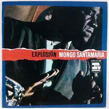 MONGO SANTAMARIA: Explosion USA Riverside Latin Jazz Boogaloo LP RS 3008
