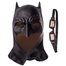 Justice League Batman Mask Cosplay Superhero Deluxe Latex Adult Mask Halloween