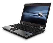 "HP Laptop Windows 10 Pro 8440p i5 2.4GHz 4GB RAM 250GB Wifi DVDRW 14"" Notebook"