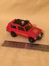 RARE MATCHBOX SUPERKINGS K-64 FIRE CONTROL RANGE ROVER,VINTAGE,1977,USED
