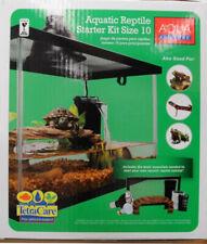 New listing Turtle & Aquatic Reptile Habitat Starter 10-Gallon Aquarium Kit W Heated