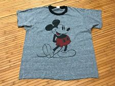 SMALL - Vtg 80s Mickie Mouse Punk Power Skater Cut T-shirt
