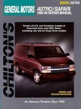 GM Astro/Safari 1985-96 Chilton's Total Car Care Repair Manual Chilton