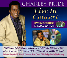 Charley Pride - Live In Concert *SPECIAL EDITION* | NEW & SEALED CD & DVD