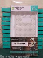 FAST FREE SHIP Trident Krios Clear Soft Gel Case - Samsung Galaxy S6 Edge Plus +