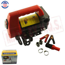 NEW 12V Diesel Biodiesel Kerosene Pumpcast Fuel Oil Transfer Extractor Pump 175w