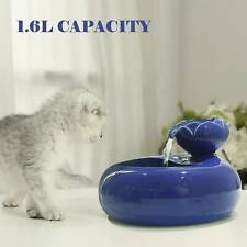 Pet Ceramic Water Fountain Automatic drinking fountain electric water dispenser