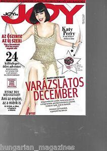 Joy Ungarn / Hungary Hungarian Magazine 2015/12 - Katy Perry - Cover