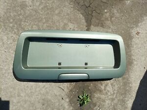 2002-2008 Trailblazer Envoy Rear Hatch Liftgate Plate Trim Panel Handle #3