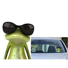 Funny Wear Sunglasses 3D Green Frog Car Stickers Truck Window Vinyl Decal