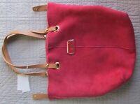 UGG Bag Jane Shearling Tote Crimson NEW $295