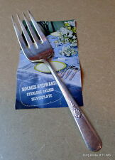 Holmes Edwards Serving FORK Youth Pattern Inlaid Silverplate  9""
