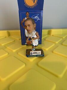 "Stephen Curry Mini Bobblehead 4"" Rare Golden State Warriors Super Cuts With Box"